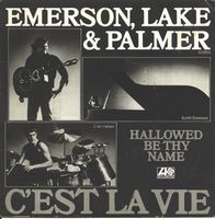 Elp (emerson Lake & Palmer) C'est La Vie / Hallowed Be Thy Name CD album cover