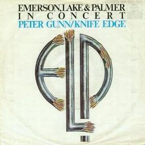 Elp (emerson Lake & Palmer) - Peter Gunn CD (album) cover