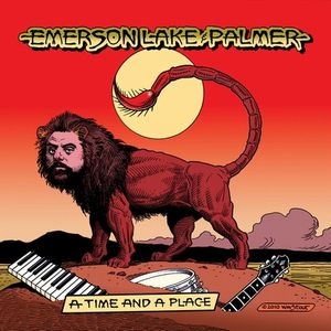 ELP (EMERSON LAKE & PALMER) - A Time And A Place CD album cover