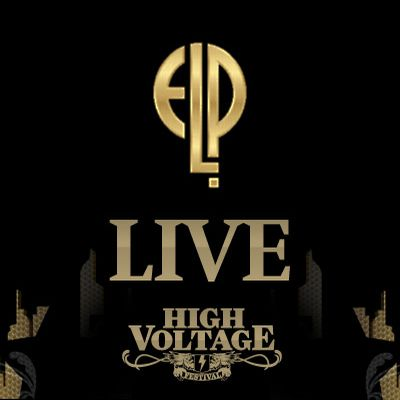 Elp (emerson Lake & Palmer) - Live At High Voltage 2010 CD (album) cover