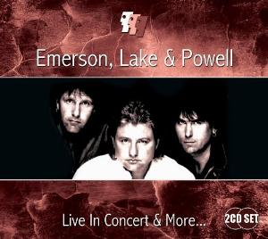 ELP (EMERSON LAKE & PALMER) - Emerson, Lake And Powell - Live In Concert And More... CD album cover