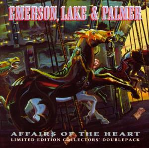 ELP (EMERSON LAKE & PALMER) - Affairs Of The Heart (limited Edition Collectors Doublepack) CD album cover