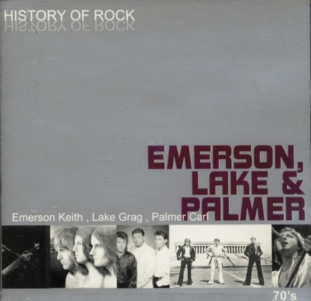 ELP (EMERSON LAKE & PALMER) - History Of Rock CD album cover