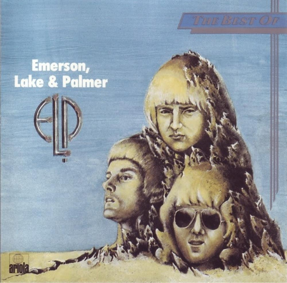 ELP (EMERSON LAKE & PALMER) - The Best Of Elp CD album cover