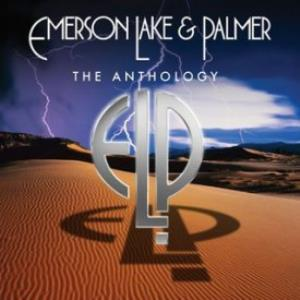 ELP (EMERSON LAKE & PALMER) - The Anthology CD album cover