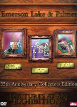 ELP (EMERSON LAKE & PALMER) - Pictures At An Exhibition - 35th Anniversary Collectors Edition CD (album) cover
