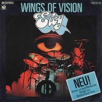 Eloy - Wings Of Vision / Sunset CD (album) cover