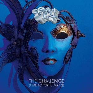 Eloy - The Challenge CD (album) cover