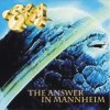 Eloy - The Answer In Mannheim CD (album) cover