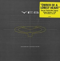 Yes - Owner Of A Lonely Heart (ep) CD (album) cover
