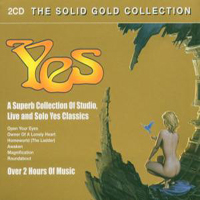 Yes - The Solid Gold Collection CD (album) cover