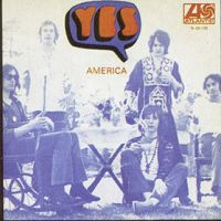Yes - America CD (album) cover