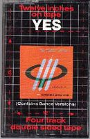 Yes - Twelve Inches On Tape CD (album) cover
