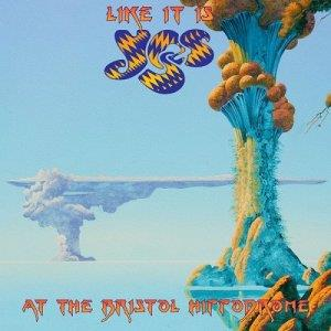 Yes - Like It Is: Yes At The Bristol Hippodrome CD (album) cover