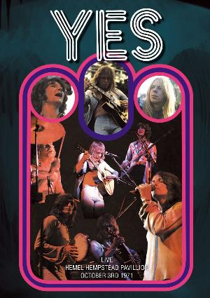 Yes - Live Hemel Hempstead Pavillion October 3rd 1971 DVD (album) cover