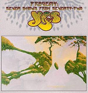 Yes - Progeny - Seven Shows From Seventy-two CD (album) cover