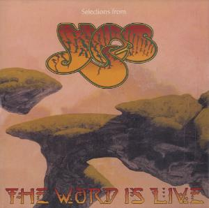 YES - Selections From The Word Is Live CD album cover