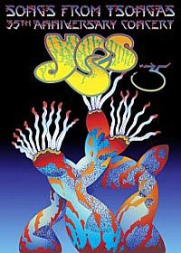 Yes - Songs From Tsongas : 35th Anniversary Concert DVD (album) cover