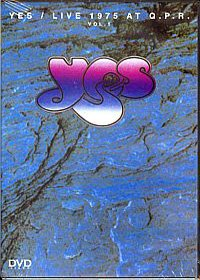 Yes - Live 1975 At Q.p.r. Vol. 1 DVD (album) cover