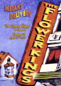 The Flower Kings - Instant Delivery DVD (album) cover