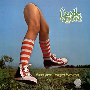 Gentle Giant - Giant Steps...the First Five Years 1970-1975 CD (album) cover