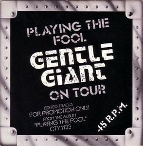 Gentle Giant - Just The Same (live) CD (album) cover
