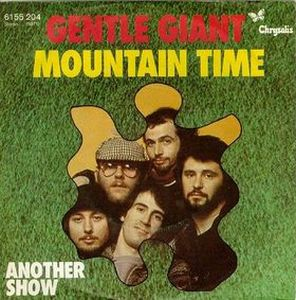Gentle Giant - Mountain Time CD (album) cover