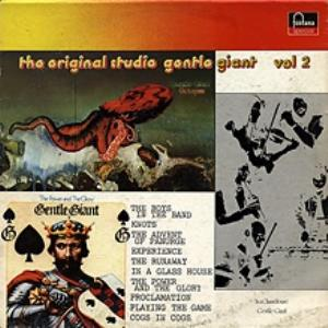 Gentle Giant - The Original Studio Gentle Giant - Vol. 2 CD (album) cover