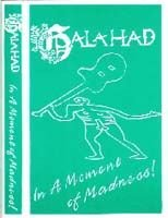 Galahad - In A Moment Of Aadness (tape) CD (album) cover