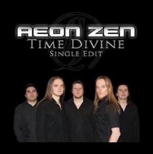 Aeon Zen - Time Divine CD (album) cover