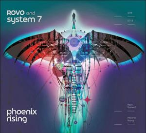 Rovo - Phoenix Rising (with System 7) CD (album) cover