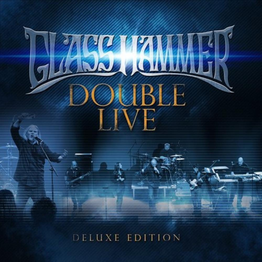 Glass Hammer Double Live CD album cover