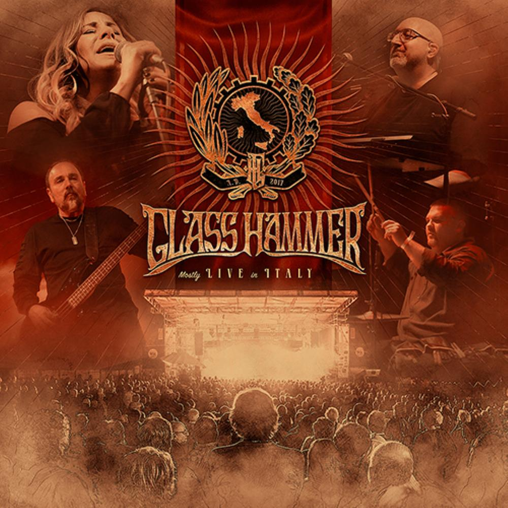 GLASS HAMMER - Mostly Live In Italy CD album cover