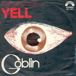 Goblin - Yell CD (album) cover