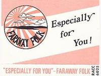 Faraway Folk - Especially For You CD (album) cover