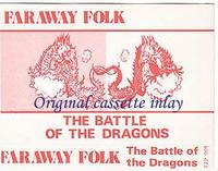Faraway Folk - The Battle Of The Dragons CD (album) cover