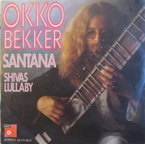 Okko Bekker - Santana / Shivas Lullaby CD (album) cover