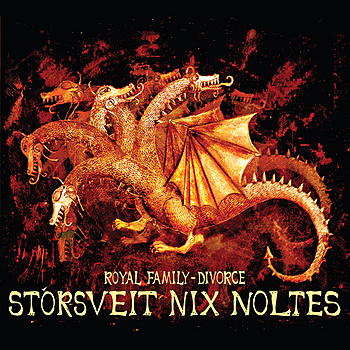 StÓrsveit Nix Noltes - Royal Family - Divorce CD (album) cover