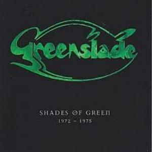 Greenslade - Shades Of Green 1972 - 1975 CD (album) cover