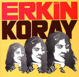 Erkin Koray - Erkin Koray CD (album) cover