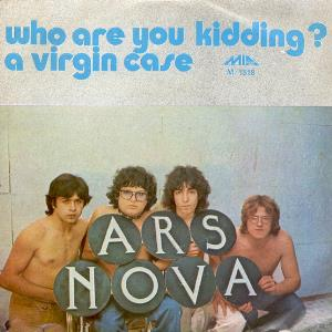 Ars Nova (ita) - Who Are You Kidding? CD (album) cover