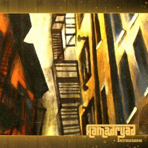Hamadryad - Intrusion CD (album) cover