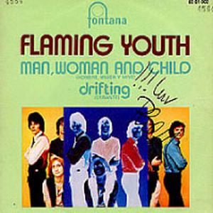 FLAMING YOUTH - Man, Woman And Child / Drifting CD album cover