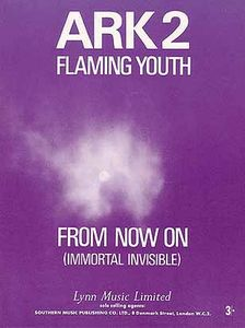 Flaming Youth - From Now On / Space Child CD (album) cover