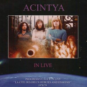 Acintya - In Live CD (album) cover