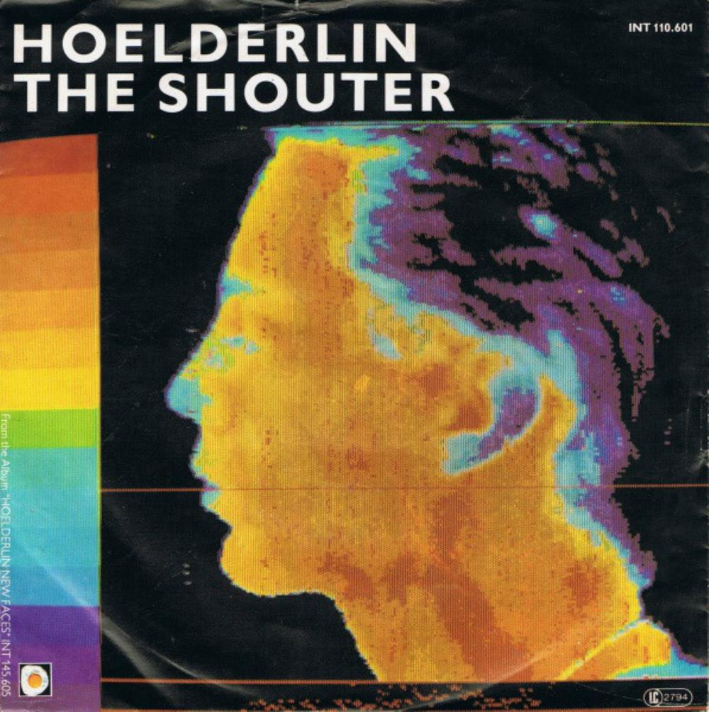 HöELDERLIN - The Shouter CD album cover