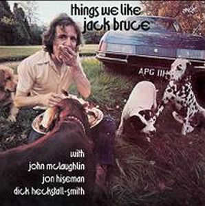 Jack Bruce - Things We Like CD (album) cover