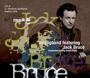 Jack Bruce - Hr Big Band Featuring Jack Bruce CD (album) cover