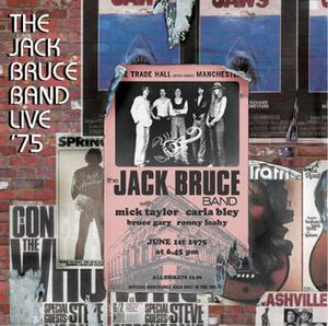 Jack Bruce - Live '75 CD (album) cover