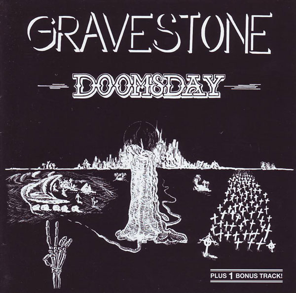 Gravestone - Doomsday CD (album) cover